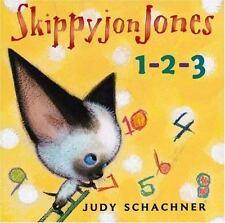 Skippyjon Jones: Skippyjon Jones 1-2-3 by Judy Schachner (2008, Board Book)