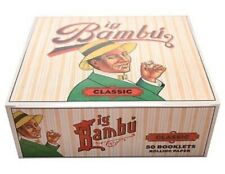 Big Bambu Classic 50 Booklet Packs Cigarette Rolling Papers ��Free Shipping��