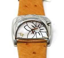 Lorenzo Pozzan Stratosphere Silver White Real Diamond Watch LP Italy Swiss Made