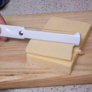 CHEESE SLICER STAINLESS STEEL THICK & THIN SLICES DOUBLE SIDED HARD SOFT