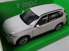 1/24 Welly BMW X5 weiss 24052