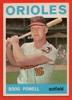 1964 Topps #89 Boog Powell EX-EX+ WRINKLE Baltimore Orioles FREE SHIPPING