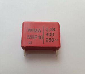 WIMA0.39UF400V Wima Kondensator ''UK Company SINCE1983 Nikko ''
