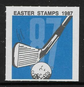 SOUTH AFRICA 1987 EASTER CHARITY GOLF 1v MNH