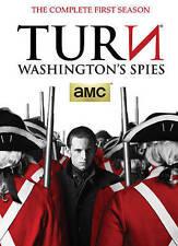 TURN: Washingtons Spies (DVD, 2015, 3-Disc Set)