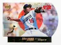 Hideo Nomo #NP16 (1998 Upper Deck) National Pride Die-Cut, Los Angeles Dodgers