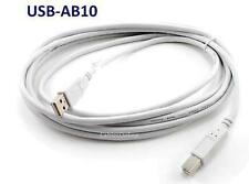 10ft USB 2.0 A-Type Male to B-Type Male Printer/ Scanner/ etc. Cable - USB2-AB10
