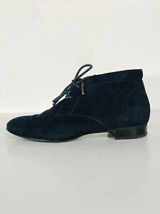 Russell & Bromley Women's Suede Flats Shoes   EU38 UK5   Blue