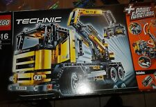 LEGO Technic Truck mit Hebebühne 8292 Technik Power Funktion Motor Top