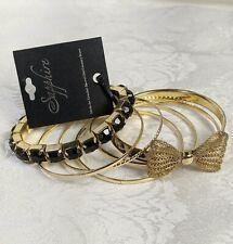 Sapphire Ladies Bangles Assortment Seven Bracelets