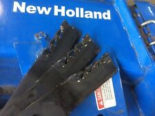 "Set of 3 60"" Gator mower blades New Holland TZ18DA,TZ22DA,TZ24DA,TZ25DA"
