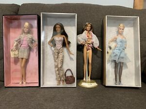 Barbie Model of the Moment Gold Label 2004 (Lot of 4)