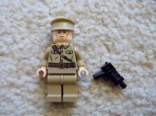 LEGO Indiana Jones Minifig - Rare - Colonel Dovchenko with Gun - 7626 7628