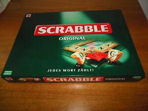 Mattel Scrabble Original Wörterspiel Brettspiel 2-4 Spieler ab 10 Jahre komplett