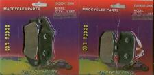 Kawasaki Disc Brake Pads KDX220 KDX220R KDX220SR 1994-2005 Front & Rear (2 sets)
