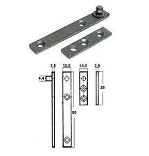 8 Stück RS Zapfenband #5012 verzinkt, Länge 80mm im restaurierungsshop