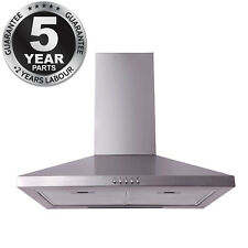 SIA 60cm Chimney Cooker Hood Extractor Fan In Stainless Steel