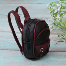 Mini Leather Backpack Bag Dolls Accessory for 1/6 BJD Dollfie Doll Accessory