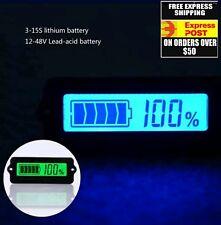 12V Lead Acid Battery Capacity Indicator LCD Digital Display