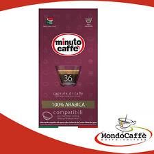216 CIALDE CAPSULE CAFFE COMPATIBILI LAVAZZA A MODO MIO BY MINUTO CAFFE ARABICA