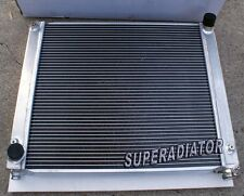 1990-1996 fit for Nissan 300ZX Z32 3.0L Turbo MT Aluminum Radiator 2 ROW