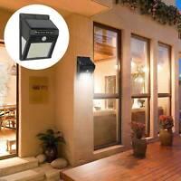 Solar Power Motion Sensor Garden Outdoor Floodlight LED PIR Security Light