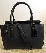 COACH 56839 BROOKLYN 28 CARRYALL, NWT!! *MSRP $495* NAVY GUNMETAL PERFECT