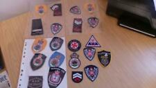 RB75: Collection of Australian Fire Fighter / Department Cloth Badges x 22