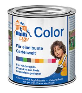 Multi Play Color dunkelblau Farben Holzschutz für Spielgeräte