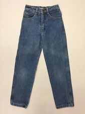 Vintage 1986 Georges Marciano for Guess? Kids Size 7 Blue Jeans  USA 100% Cotton