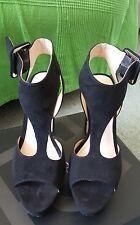Primadonna neri in pelle scamosciata Sandali/scarpe misura 3