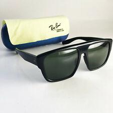 Vintage Ray Ban B&L USA DRIFTER Sunglasses black wayfarer square flat top chunky