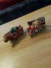 Resin Dog Ornaments By Cracker Barrel