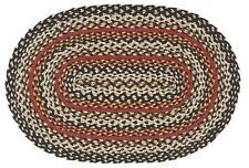 IHF Home Decor Braided Rug Oval Area Floor Carpet 20 x 30 Savannah Design Jute