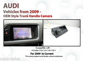 AUDI A4 / A5 / A6 / Q5 3G Concert Symphony Rearview Reverse Camera Retrofit Kit