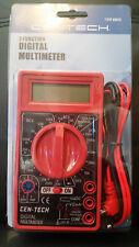 CEN-TECH 7 Function Digital Multimeter  Multi-Tester DC-AC Voltage+Battery Test