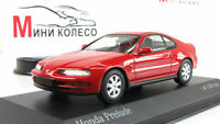 Scale car 1:43, Honda Prelude 1992 Red