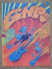 Guns N Roses Poster Lithograph 11-28-17 San Diego 18x24  xx-300