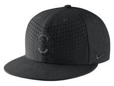 Nike Ohio State Buckeyes Hat Snap Back Black One Size Brand New