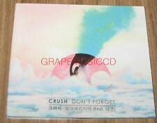 CRUSH TAEYEON GIRLS' GENERATION DON'T FORGET K-POP PROMO DIGITAL SNGLE CD