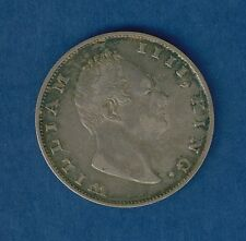 1835 British India 1 Rupee silver East India Co King William IIII  no reserve