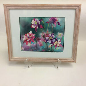 Kathy Womack Kathleen Floral Subject Signed Limited Edition Print Mint 24/500