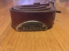 Levi Strauss Leather Belt Cute Casual Women's Medium M
