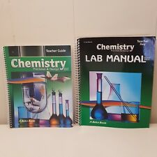 ABeka Book Chemistry Teacher Guide Lab Manual Grade 11 Homeschool Spiralbound