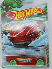 2020 Hot Wheels ~ Spring Series ~ Bullet Proof ~ Card 3/6 ~ Transparent Red