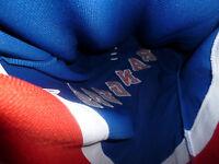 NEW YORK RANGERS jersey pro player L@@K Mens BEAUTIFUL blue large nhl size 50 L