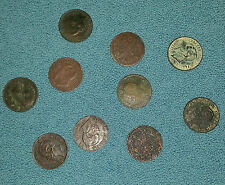 Monete 1cent. Regno Vittorio Emanuele II (varie date-10 pz) MB-QBB-Rame