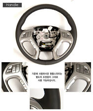[Kspeed] (Fits: Hyundai Tucson ix35) Genuine Leather Heated Steering Wheel