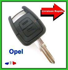 Coque Télécommande Plip Bouton Clé Opel  Vectra  Astra  Zafira + Lame vierge