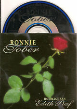RONNIE TOBER hommage aan EDITH PIAF CD SINGLE 2TR 1995